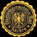 Siegelmarke Oberbürgermeister Amt - Aachen W0220532.jpg