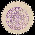 Siegelmarke Stadtgemeinde Bretten W0368980.jpg