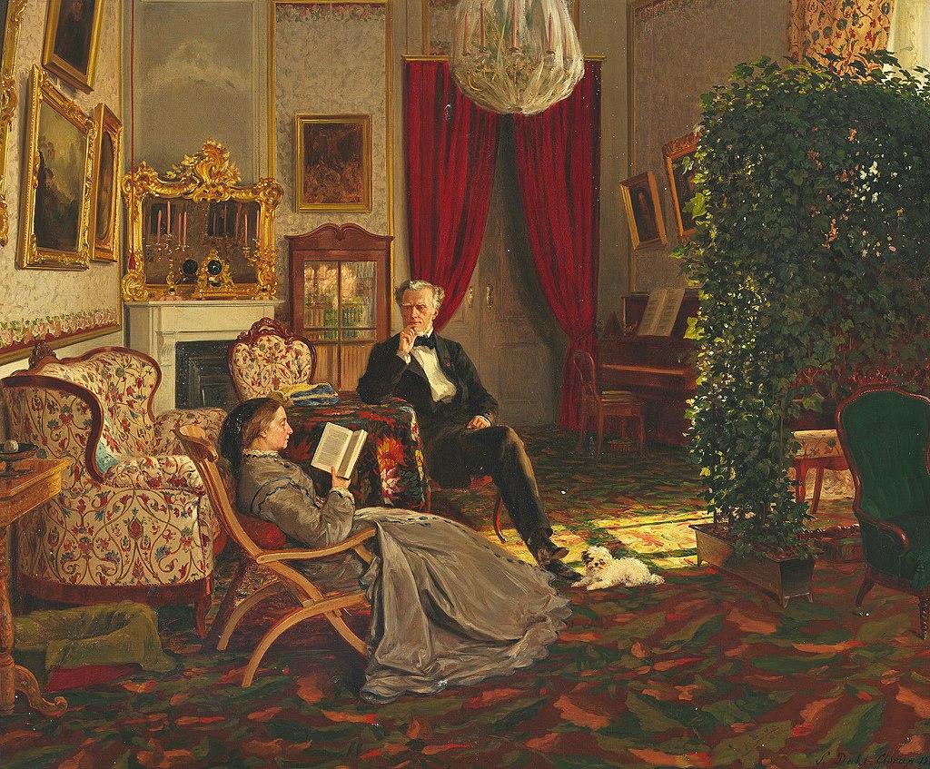 Siegwald Dahl - Interior from Glorup (1867).jpg