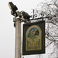 Sign outside the parrot - geograph.org.uk - 1162828.jpg