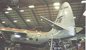 Sikorsky VS-44 - Sikorsky VS-44 NC41881 displayed at the New England Air Museum wearing American Export Airlines colours in June 2005