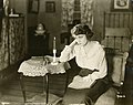 "Silent film actress Miriam Fouche in ""Private Peat"" (SAYRE 255).jpg"