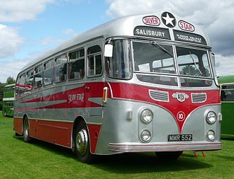 Thomas Harrington & Sons - Preserved Harrington Wayfarer-bodied Leyland Tiger Cub of Silver Star, Porton Down.