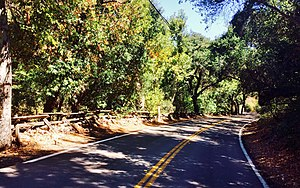 Silverado, California - Silverado Canyon Road, 2015