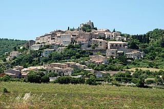 Simiane-la-Rotonde Commune in Provence-Alpes-Côte dAzur, France