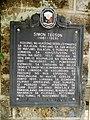 Simon Tecson historical marker in San Miguel, Bulacan.jpg