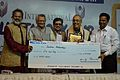 Sirshendu Mukhopadhyay - Lifetime Achievement Award Presentation - 38th International Kolkata Book Fair - Milan Mela Complex - Kolkata 2014-02-07 8527.JPG
