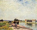 Sisley - Barges-On-The-Loing-At-Saint-Mammes-1884-1.jpg