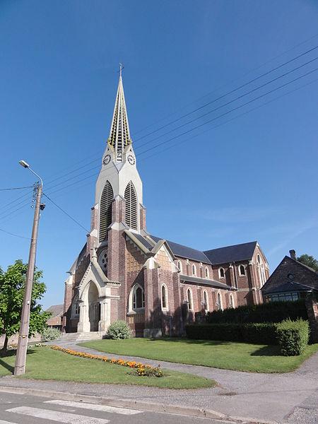 Sissy (Aisne) église