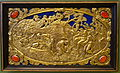 Six Mythological Scenes, 6 Scenes of Satyrs, Antonio Gentili, Rome, c. 1600 AD, modelled c. 1552-1555 AD, gold plate with precious stones - Bode-Museum - DSC02540.JPG