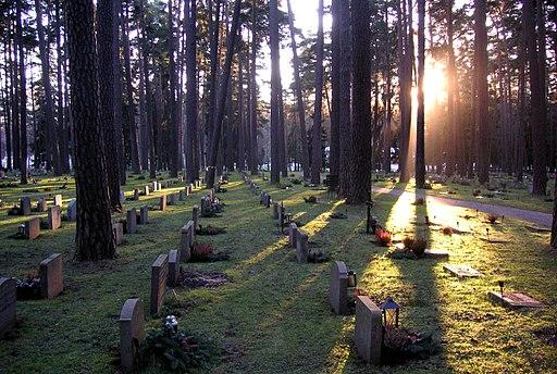 Skogskyrk Grav 2006