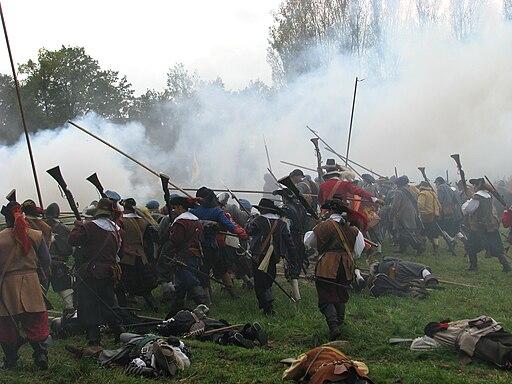 Slag om Grolle 2008-2 - Staatse troepen bestormen de Spaanse stellingen