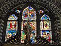 Smn, sagrestia, vetrata su disegno di niccolò gerini (1386-90 ca.).JPG