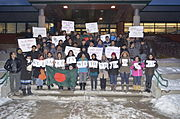 Students of Memorial University of Newfoundland.
