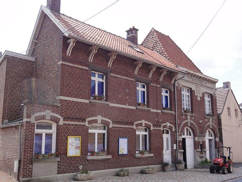 Sommaing (Nord, Fr) mairie