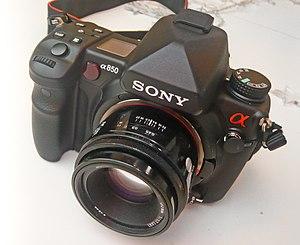 Sony Alpha 850 - Image: Sony a 850