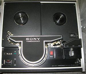 EIAJ-1 - Image: Sony half inch A 3500 TVR
