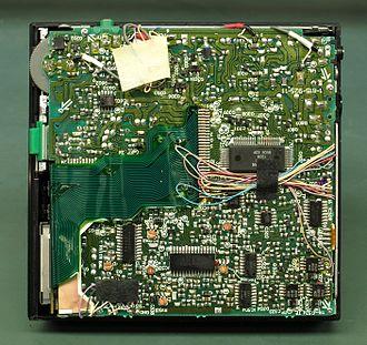 Discman - Image: Sony D50 Discman PCB