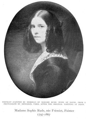 Sophie Frémiet - Image: Sophie Rude, née Frémiet Self portrait