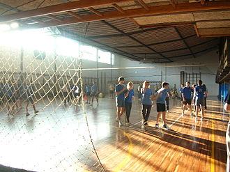 Alejandro de la Sota - The interior of the Maravillas College Gymnasium