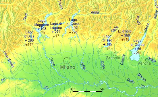 Cartina Laghi Nord Italia.Criptodepressione Wikipedia