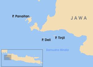Download this Peta Letak Pulau Tinjil picture