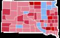 South Dakota Gubernatorial Election Results by County, 1940.png