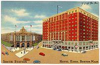 South Station, Hotel Essex, Boston Mass (71422).jpg