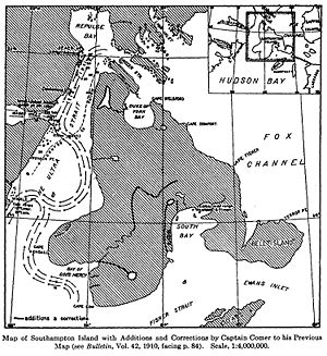 Southampton Island - Image: Southampton Island 1913