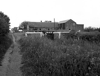 Southcote, Berkshire - Southcote Water Works (pictured in the 1970s) was built in the mid-19th century to pump water into Reading