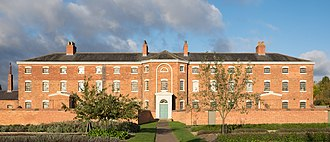 William Adams Nicholson - Southwell Workhouse as restored in 2016