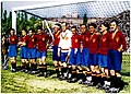 Spanish national football team before the match against England in Madrid, 15.05.1929.jpg