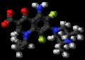 Sparfloxacin zwitterion ball.png