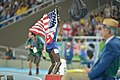 Spc. Paul Chelimo wins silver medal in 5,000 meters at Rio Olympic Games photos by Tim Hipps, IMCOM Public Affairs (28836385880).jpg
