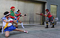 Special Edition NYC 2015 - Atomic Wonder Woman vs Sakura, Cammy & Chun Li (18545612795).jpg
