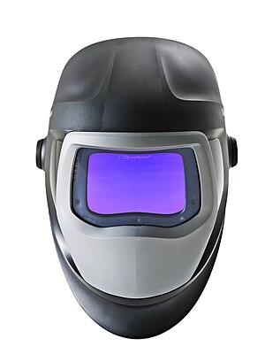 Welding helmet - Speedglas welding helmet.