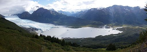 Spencer Glacier-Placer River panorama