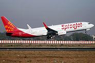 SpiceJet Boeing 737-900ER Vyas-1