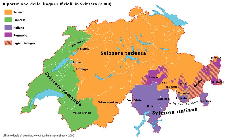 Sprachen CH 2000 IT