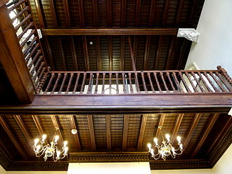 Spring Hall - Galleried grand staircase