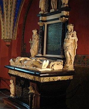 Torsten Stålhandske - The mausoleum of Torsten Stålhandske and his wife in the Cathedral of Turku in Finland.