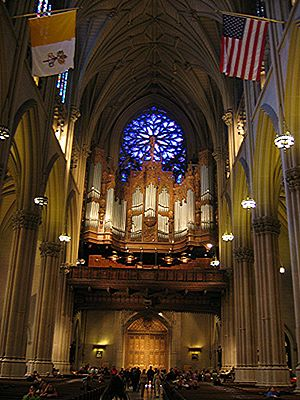 Pietro Yon - The grand gallery organ at St. Patrick's Cathedral, New York