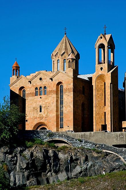 Surp Sarkis Church, consecrated in 1842