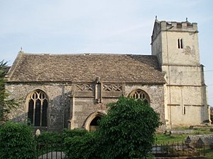 Charfield - Image: St. James church, Churchend geograph.org.uk 195886