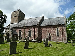 English: St. John the Baptist's church, Aston ...