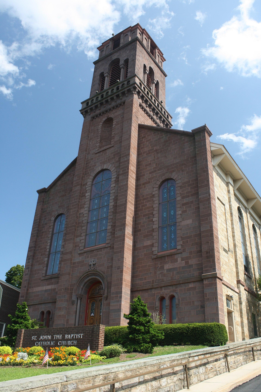 St John The Baptist Church Pottsville Pennsylvania