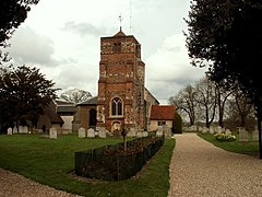St. Mary's church, Lawford, Essex - geograph.org.uk - 158427.jpg