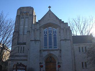 St. Matthew's Anglican Church (Ottawa) - Church front