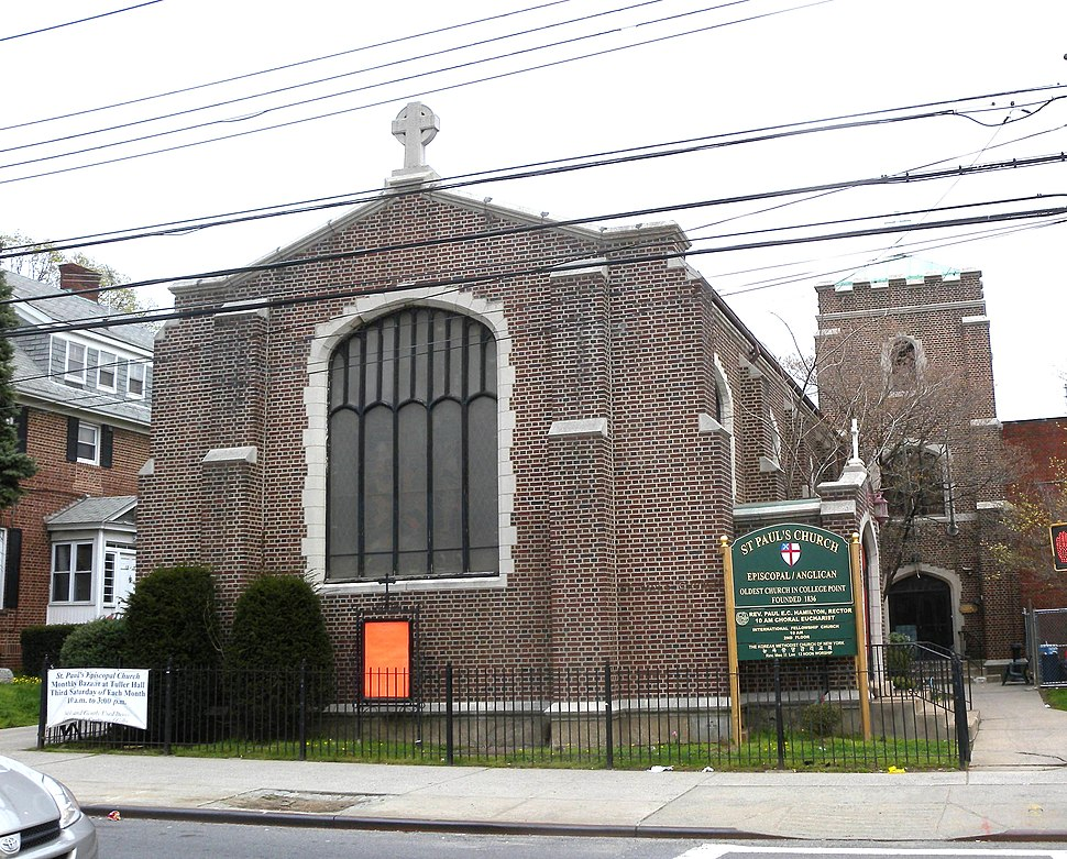 St. Paul's Episcopal Church, College Point jeh