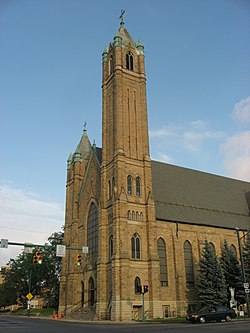 All That Remains Of St Raphaels >> St Raphael S Catholic Church Springfield Ohio Wikipedia